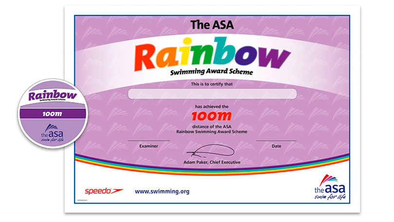Awards awards and certifications for our learner for Asa swimming lesson plan template
